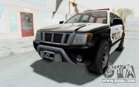 Canis Seminole Police Car for GTA San Andreas