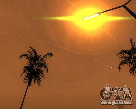Realistic ENB for medium PC V. 1 for GTA San Andreas sixth screenshot