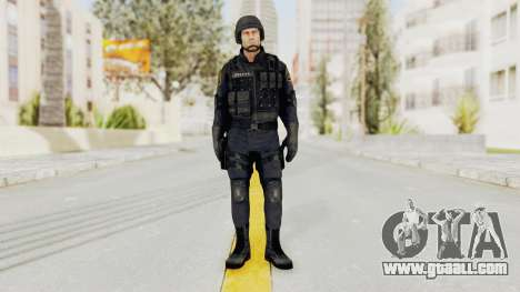 Dead Rising 2 Chucky Swat Outfit for GTA San Andreas second screenshot