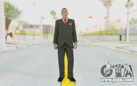 Barack Obama Skin for GTA San Andreas second screenshot