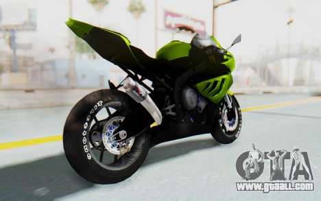 BMW S1000RR HP4 Modification for GTA San Andreas left view
