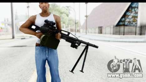 Kalashnikov PK (PKM) for GTA San Andreas