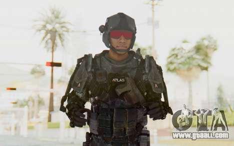CoD Advanced Warfare ATLAS Soldier 2 for GTA San Andreas