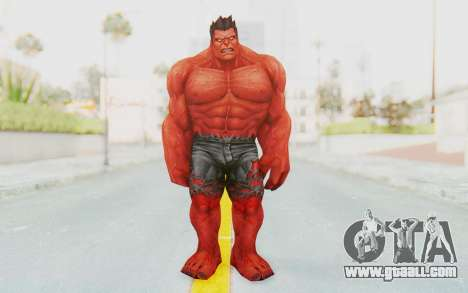 Marvel Future Fight - Red Hulk for GTA San Andreas second screenshot
