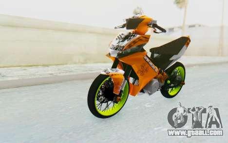 Yamaha Jupiter MX 135 Roadrace for GTA San Andreas