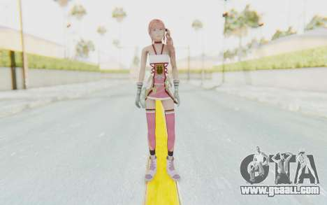 FinalFantasy XIII-2 - Serah for GTA San Andreas second screenshot