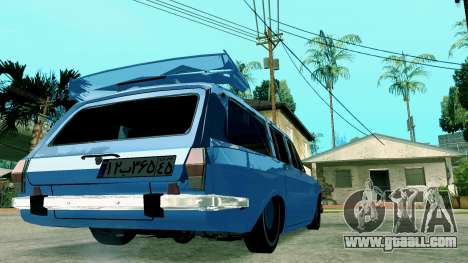 IKCO Paykan StiTion Sport for GTA San Andreas back left view