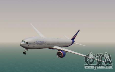 Boeing 777-300ER Aeroflot for GTA San Andreas