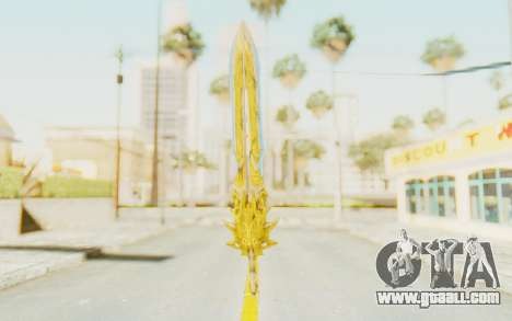 Blade of Olympus for GTA San Andreas second screenshot