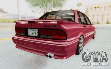 Mitsubishi Galant VR4 1992 for GTA San Andreas left view
