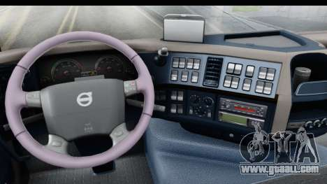 Volvo FMX Euro 5 v2.0 for GTA San Andreas inner view