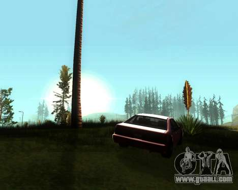 Realistic ENB for medium PC V. 1 for GTA San Andreas third screenshot
