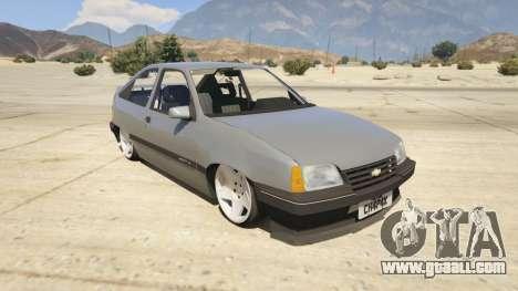 Chevrolet Kadett SL 2.0 Lowered for GTA 5