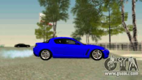 Mazda RX-8 for GTA San Andreas right view