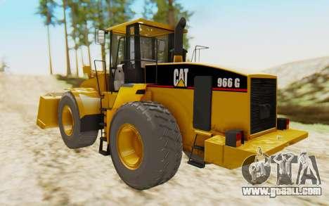 Caterpillar 966 GII for GTA San Andreas left view