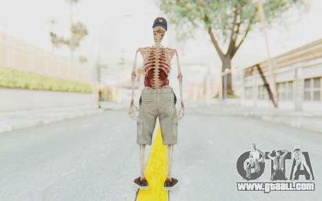 Skeleton Sk8ter for GTA San Andreas third screenshot