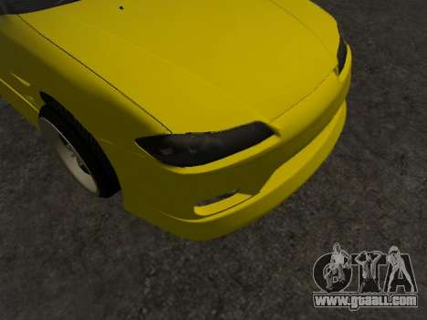 Nissan Silvia S15 for GTA San Andreas upper view
