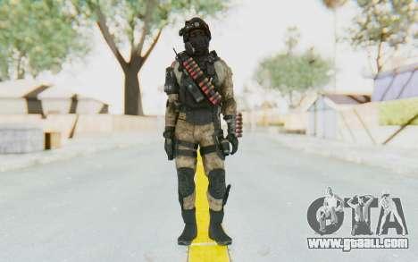Federation Elite Shotgun Desert for GTA San Andreas second screenshot