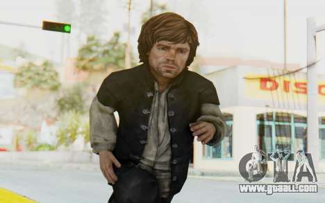 Game Of Thrones - Tyrion Lannister Prison Outfit for GTA San Andreas