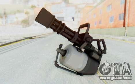 Minigun from TF2 for GTA San Andreas second screenshot