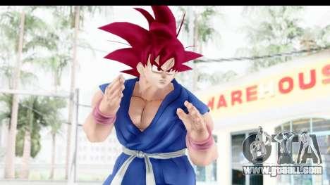 Dragon Ball Xenoverse Goku GT Adult SSG for GTA San Andreas