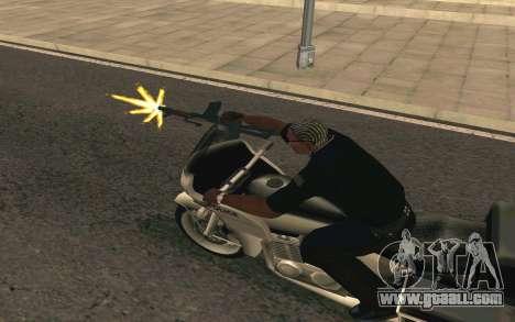 AKS-74U for GTA San Andreas fifth screenshot