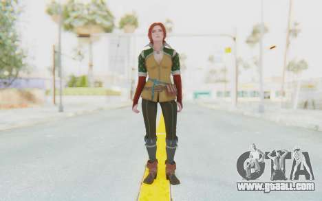 The Witcher 3 - Triss Merigold Default for GTA San Andreas second screenshot