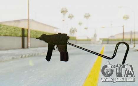 VZ-61 Skorpion Unfold Stock Russian Gorka Camo for GTA San Andreas second screenshot