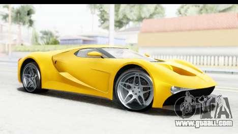 GTA 5 Vapid FMJ for GTA San Andreas