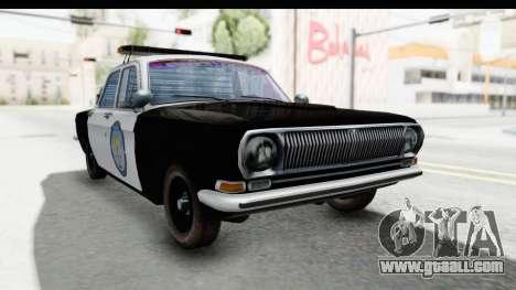 ГАЗ 24 Police Highway Patrol for GTA San Andreas right view
