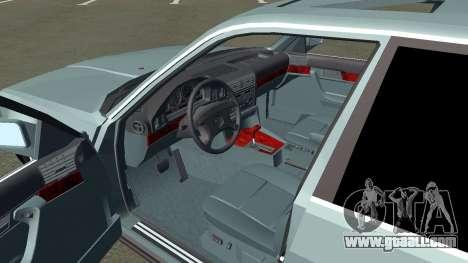 BMW 535i Gang for GTA San Andreas back view