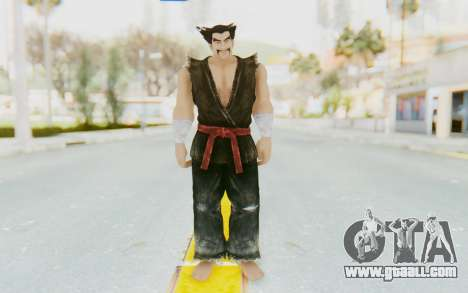 Heihachi Mishima (Young) for GTA San Andreas second screenshot