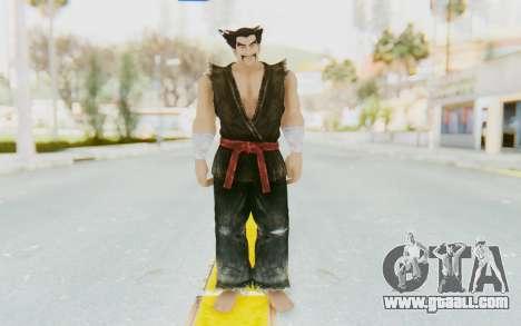 Heihachi Mishima (Young) for GTA San Andreas second screenshot