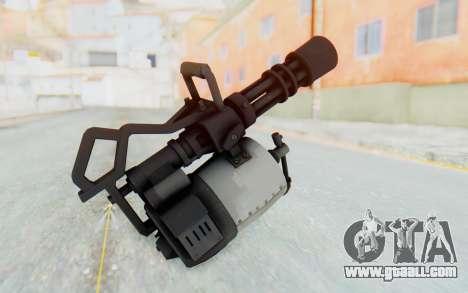 Minigun from TF2 for GTA San Andreas third screenshot