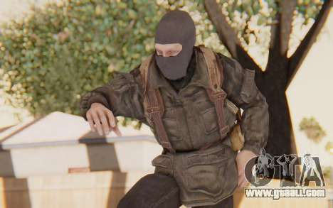 COD BO Russian Soldier Balaclava for GTA San Andreas