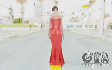 Linda Meilinda Kebaya Lady In Red for GTA San Andreas second screenshot