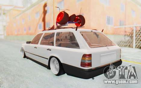 Mercedes-Benz W124 Stance Works for GTA San Andreas back left view