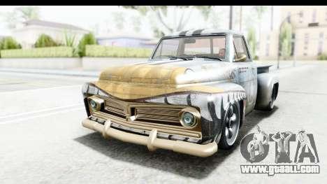 GTA 5 Vapid Slamvan Custom IVF for GTA San Andreas interior