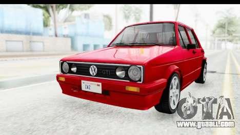 Volkswagen Golf Citi 1.8 1998 for GTA San Andreas