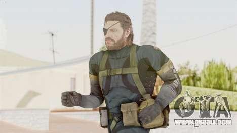 MGSV Phantom Pain Big Boss SV Sneaking Suit v2 for GTA San Andreas