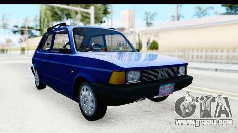 Fiat 147 Spazio TR Stock for GTA San Andreas