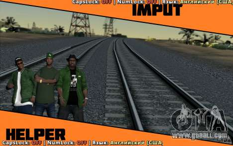 Input Helper for GTA San Andreas