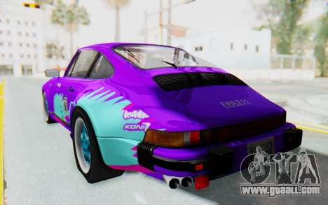 Porsche 911 Turbo 3.2 Coupe (930) 1985 for GTA San Andreas engine