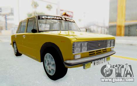 Seat 1430 Torrente for GTA San Andreas back left view