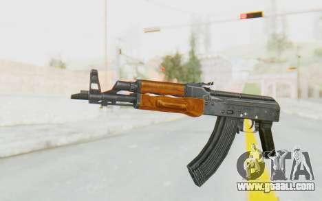 AK-47U v1 for GTA San Andreas second screenshot