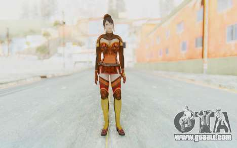 Dynasty Warriors 7 - Lian Shi v1 for GTA San Andreas second screenshot