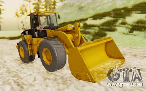 Caterpillar 966 GII for GTA San Andreas right view