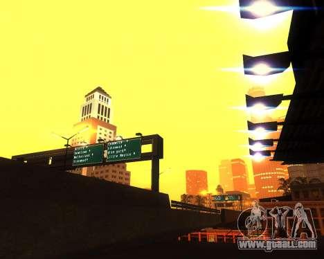 Realistic ENB for medium PC V. 1 for GTA San Andreas fifth screenshot