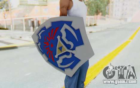 Hylian Shield from Legend of Zelda for GTA San Andreas third screenshot