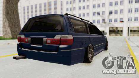 Nissan Stagea WC34 1996 for GTA San Andreas back left view
